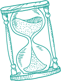 Countdown Hourglass Icon